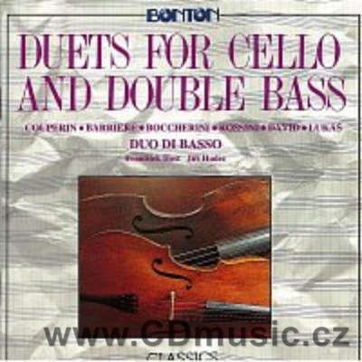 DUETS FOR CELLO AND DOUBLE BASS / F.Host cello, J.Hudec double bass