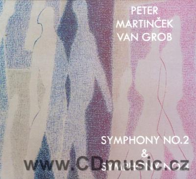"MARTINČEK P. SYMPHONY No.2 ""THE SECOND TOUCH"", SYMPHONY No.3 ""VENETIAN"" / SCO, Slovak Sinf"
