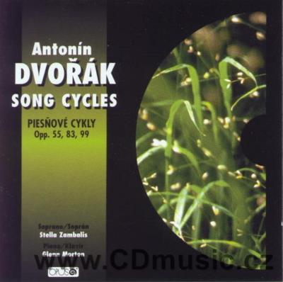DVOŘÁK A. GYPSY SONGS Op.55, LOVE SONGS Op.83, BIBLICAL SONGS Op.99 / S.Zambalis soprano