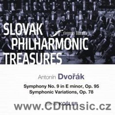 DVOŘÁK A. SYMPHONY No.9 FROM THE NEW WORLD, SYMPHONIC VARIATIONS Op.78 / SPO / Z.Košler