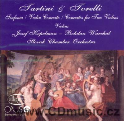 TARTINI G. SINFONIA, CONCERTO FOR VIOLIN AND STRING ORCHESTRA, TORELLI G. CONCERTOS