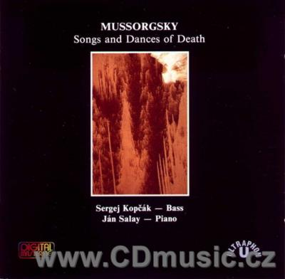 MUSSORGSKY M.P. SONGS AND DANCES OF DEATH, 7 SONGS / S.Kopčák bass, J.Salay piano