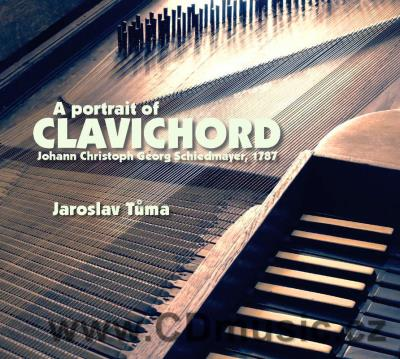A PORTRAIT OF CLAVICHORD / J.Tůma clavichord Johann Christoph Georg Schiedmayer, 1787