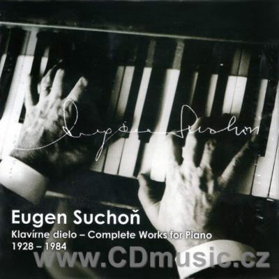 SUCHOŇ E. COMPLETE PIANO WORKS (4CD)