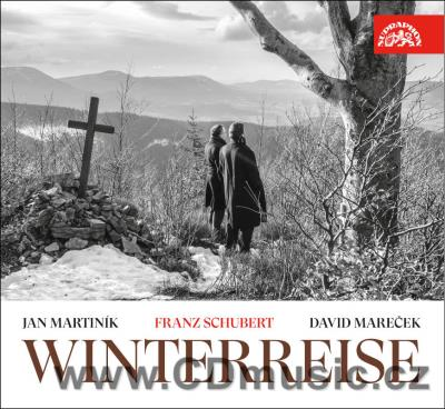 SCHUBERT F. WINTERREISE / ZIMNÍ CESTA / WINTER JOURNEY / J.Martiník bass, D.Mareček piano