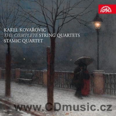 KOVAŘOVIC K. (1862-1920) COMPLETE STRING QUARTETS / Stamic Quartet