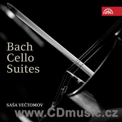 BACH J.S. SUITES FOR SOLO CELLO Nos.1-6 / S.Večtomov cello (2CD)