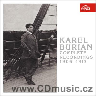BURIAN K. COMPLETE RECORDINGS 1906-1913 / K.Burian tenor (3CD)