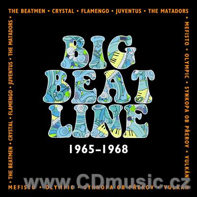 BIG BEAT LINE 1965-1968 - CZECH AND SLOVAK BANDS FROM SUPRAPHON ARCHIVES