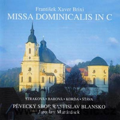 BRIXI F.X. (1732-71) MISSA DOMINICALIS IN C, RYBA J.J. (1765-1815) AVE MARIA
