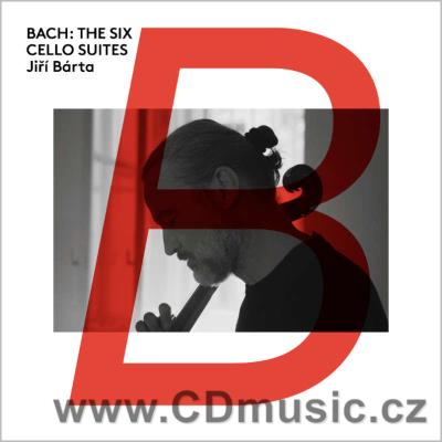 BACH J.S. SUITES FOR SOLO CELLO Nos.1-6 BWV 1007-12 / J.Bárta baroque cello