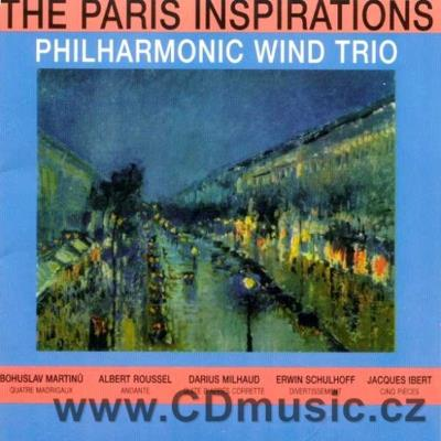 THE PARIS INSPIRATIONS (MARTINŮ B., ROUSSEL A., MILHAUD D., SCHULHOFF E., IBERT J.) / Phil
