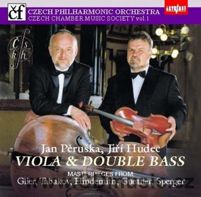 GLIER R.M. SUITE, TABAKOV E. MOTIVES FOR SOLO DOUBLE BASS, HINDEMITH P. SONATA FOR VIOLA..