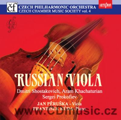 SHOSTAKOVICH D. SONATA FOR VIOLA AND PIANO Op.147, KHACHATURIAN A. SONATA SONG FOR VIOLA,