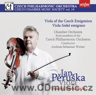 VRANICKÝ A. CONCERTO IN C MAJ FOR 2 VIOLAS AND ORCHESTRA, BENDA J.A. CONCERTO IN F MAJ FOR
