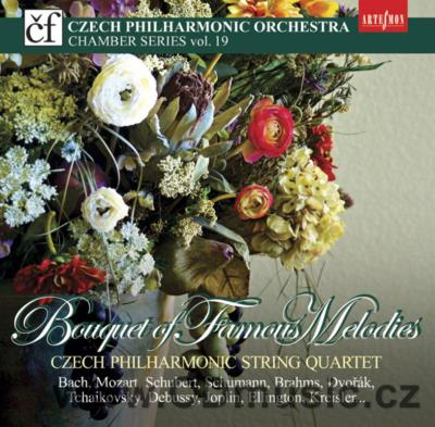BOQUET OF FAMOUS MELODIES / Czech Philharmonic String Quartet (J.Špaček Jun, M.Vavřínek...