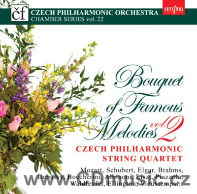CZECH PHILHARMONIC STRING QUARTET - BOQUET OF FAMOUS MELODIES Vol.2 / J.Špaček, M.Vavřínek