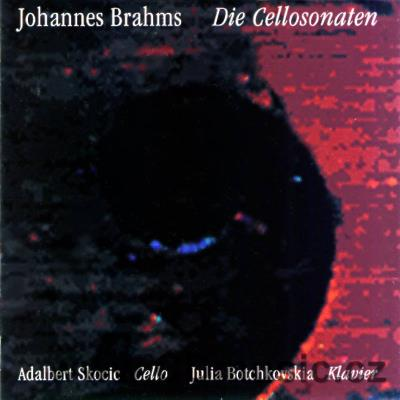 BRAHMS J. SONATAS FOR CELLO Op.38, 99, 78 / A.Skocic cello, J.Botchkovskia piano