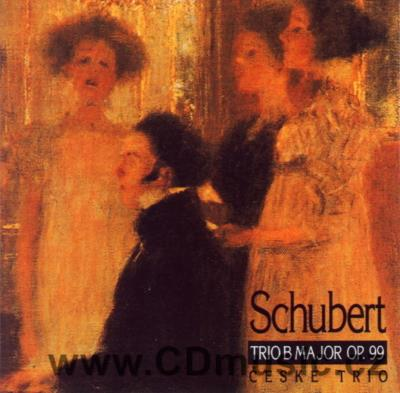 SCHUBERT F. PIANO TRIO IN B MAJOR Op.99 / Czech Trio (D.Vlachová violin, J.Páleníček cello