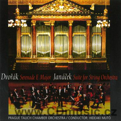 DVOŘÁK A. SERENADE FOR STRINGS IN E MAJOR Op.22, JANÁČEK L. SUITE FOR ORCHESTRA / Prague T