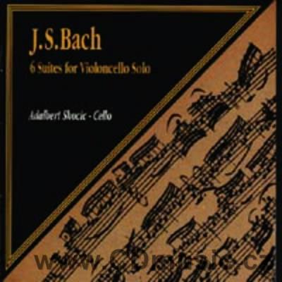 BACH J.S. SUITES FOR SOLO CELLO Nos.1-6 BWV 1007-12 / A.Skocic cello (2CD)