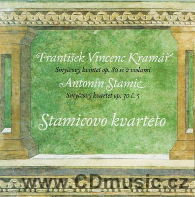 KROMMER-KRAMÁŘ F.V. (1759-1831) STRING QUINTET Op.80 FOR 2 VIOLINS, 2 VIOLAS AND CELLO, ST