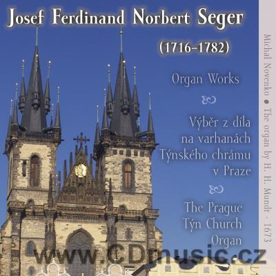 SEGER J.F.N. (1716-1782) ORGAN WORKS / M.Novenko organ, Church of Our Lady Before the Týn