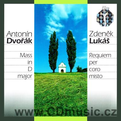 LUKÁŠ Z. (1928-2007) REQUIEM Op.252, DVOŘÁK A. MASS IN D MAJ Op.86 organ version / E.Urban