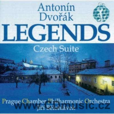 DVOŘÁK A. LEGENDS FOR ORCHESTRA Op.59, CZECH SUITE Op.39 / PCPO / J.Bělohlávek
