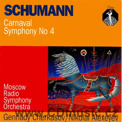 SCHUMANN R. CARNAVAL Op.45, SYMPHONY No.4 Op.120 / Moscow Radio Symphony Orchestra