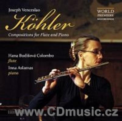 KOHLER J.V. (1809-1878) COMPOSITIONS FOR FLUTE AND PIANO / H.Budišová Colombo, I.Aslamas