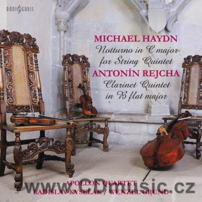 HAYDN M. (1737-1806) NOCTURNE FOR 2 VIOLINS, 2 VIOLAS AND CELLO MH 187 (P 108), REJCHA A.