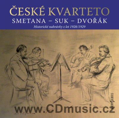 SMETANA B. STRING QUARTETS Nos.1,2, SUK J. MEDITATION, DVOŘÁK A. SELECTION FROM STRING QUA