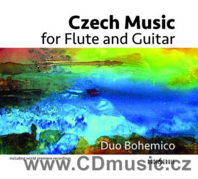 CZECH MUSIC FOR FLUTE AND GUITAR (NOVÁK J., PELIKÁN J., DELANOFF R.P.)/ A.Cuchal, P.Cuchal