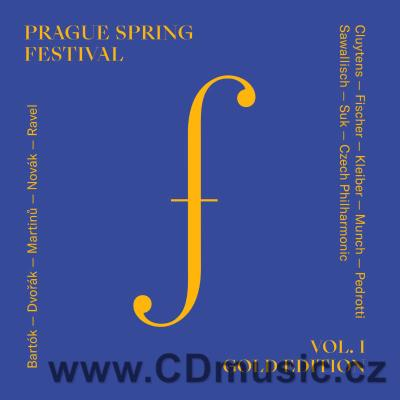 PRAGUE SPRING FESTIVAL GOLD EDITION Vol.1 (MARTINŮ B., DVOŘÁK A., NOVÁK V., RAVEL M.)(2CD)