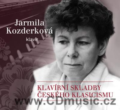 CZECH PIANO MUSIC OF CLASSICAL ERA (BENDA J.A., VAŇHAL J.K. ...)/ J.Kozderková piano (2CD)