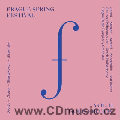 PRAGUE SPRING FESTIVAL GOLD EDITION Vol.2 (DVOŘÁK A., CHOPIN F., STRAVINSKY I. ...) (2CD)