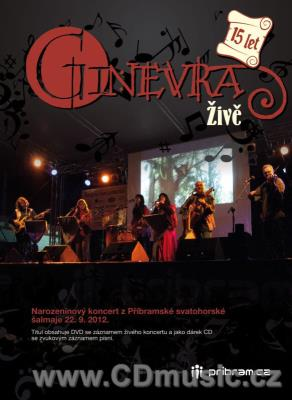 Ginevra - 15 let živě (CD+DVD)