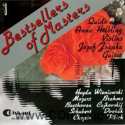 BESTSELLERS OF MASTERS Vol.1 (Schubert, Dvořák, Chopin, Haydn, Fibich, Beethoven, Mozart,