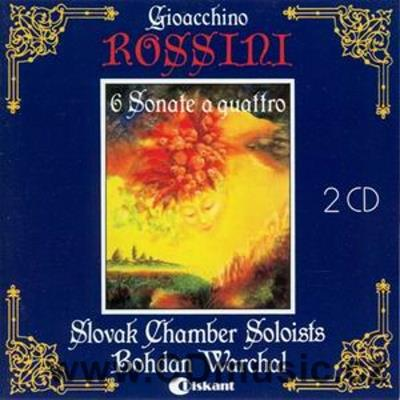 ROSSINI G. Sonata No.1 in G major, Sonata No.2 in A major, Sonata No.3 in C major, Sonata