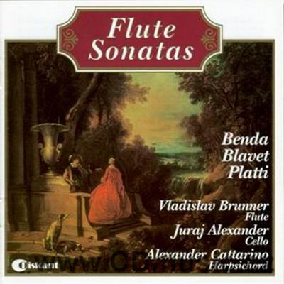 SONATAS FOR FLUTE, CELLO AND HARPSICHORD (BENDA F. (1709-1786), BLAVET M. (1700-1768), PLA