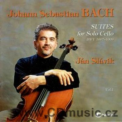 BACH J.S. SUITES FOR CELLO Nos.1,2,3 / J.Slávik cello