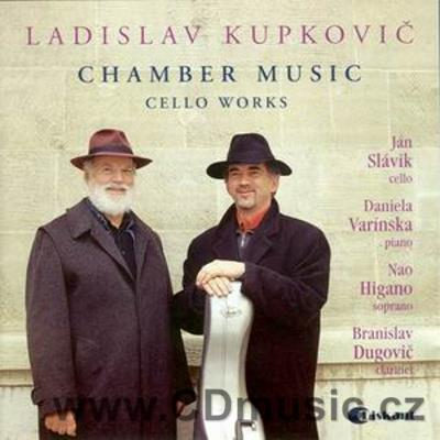KUPKOVIČ L. (b.1936) CHAMBER MUSIC, CELLO WORKS / var. Slovak soloists