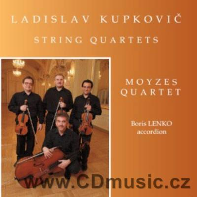 KUPKOVIČ L. (b.1936) STRING QUARTETS / Moyzes Quartet, B.Lenko accordion