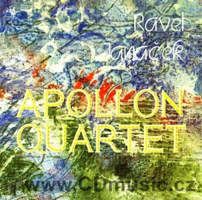 RAVEL M. STRING QUARTET IN F, JANÁČEK L. STRING QUARTET No.1 / Apollon Quartet (Empire Art