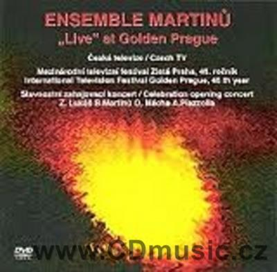 Ensemble Martinů - Live at Golden Prague Region: 2 - Europe (PAL) (EM Art Rec.)