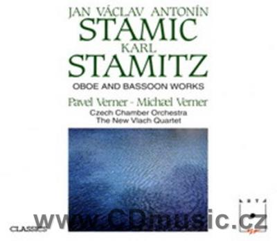 STAMIC J.V.A. CONCERTO IN C FOR OBOE AND STRINGS, STAMITZ K. 2 OBOE QUARTETS, BASSOON QUAR