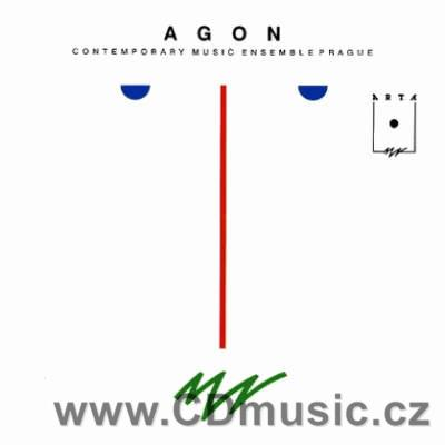 AGON Contemporary Music Ensemble Prague - the large ensemble playing compositions
