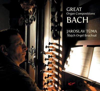 BACH J.S. GREAT ORGAN WORKS / J.Tůma organ