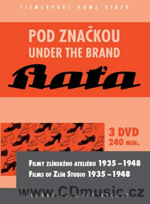 Pod značkou Baťa / Under The Brand Baťa - films of Zlín Studio 1935-1948 (3DVD set)